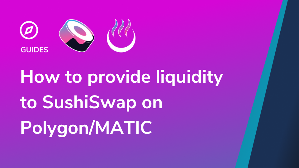 How to provide liquidity to SushiSwap on Polygon/MATIC   APY.Vision